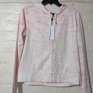 Marble pink sweater size M